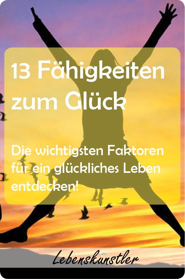 """Welche Gegebenheiten für ein glückliches Leben notwendig sind, möchte ich im Folgenden, frei nach der sogenannten """"Fähigkeiten-Liste"""" von Martha Nussbaum, kurz zusammen. Es benötigt zum Glück ausgerechnet 13;)   #gewohnheiten#glücklich #erfolgreich #lebensfreude #mentaltraining #glück#lebensqualität #psychologie #psyche #mensch #fakten#persönlichkeitsentwicklung #Philosophie #veränderung #tipps #Zufriedenheit"""