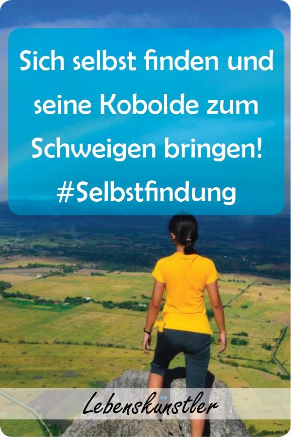 Sich selbst finden und seine Kobolde zum Schweigen bringen! Und als Student der Lebenskunst liebe ich schwierige Fragen bzw. Antworten. Am allermeisten dabei faszinieren mich die Fragen, wie viele Kobolde wohnen eigentlich in meinem Kopf, wie bringe ich diese zum Schweigen und wer bin ich? Und genau darum geht es jetzt. Klicken und merken! #Selbstfindung #sichselbstfinden #selbstbestimmung #reflexion #selbstreflexion