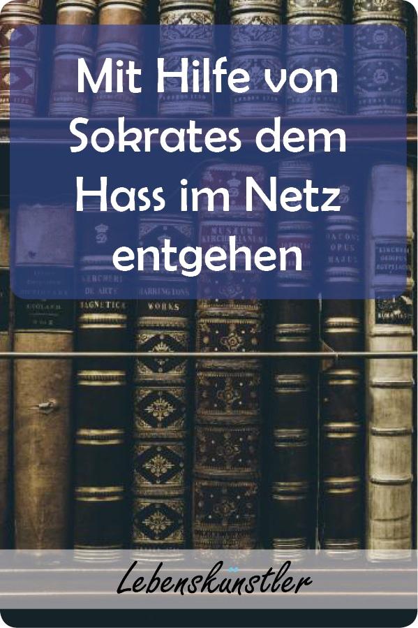 Mit Sokrates dem Hass im Netz entgehen. Social-Media Kanäle, die zur Freundschaftspflege gegründet wurden, haben sich zum Sammelpunkt von Hass gewandelt. Einst dafür gedacht mit seinen Freunden in Kontakt zu bleiben, sprühen viele Nachrichten nur so vor Wut und Lüge.  Doch die soziale Welt ist nicht nur böse und Facebook & Co haben auch ihre guten Seiten. Um diese wiederzuentdecken, bedarf es nur etwas Reflexion und einer Portion Sokrates. #Sokrates #dreisiebe #hass